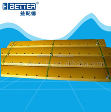 Heavy machinery grader spare parts cutting and grader blade 7D1158