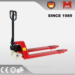 2015 china high lift hydraulic hand pallet truck industrial caster wheels