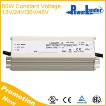 IP67 Built-in Active PFC Constant Voltage 60W 36V Led Driver