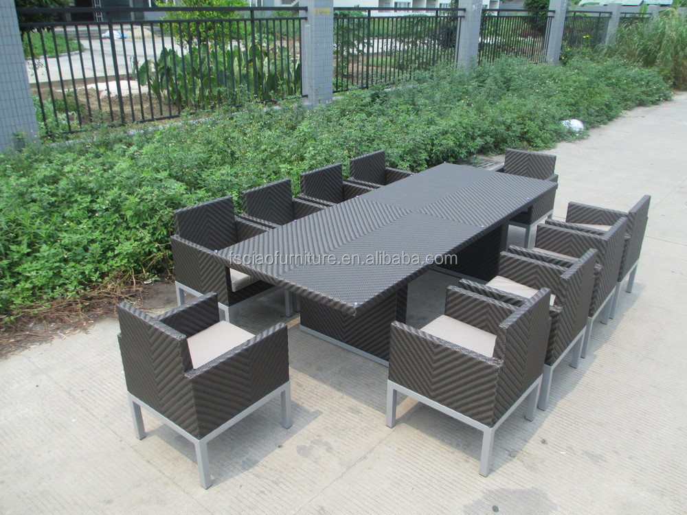 Living room furniture 10 seater dining table outdoor table for 10 seater garden table