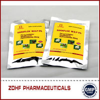 gmp certified companies blood circulation medicine 30% sulfaclozine sodium water soluble powder
