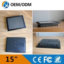 15inch rugged all in one IP65 waterproof touch panel PC/computer