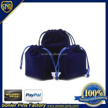 velvet gift bag for jewelry
