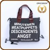 China customized messenger shoulder bag hot sale girl's vintage canvas bag