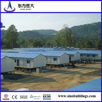 Hot sale!!Good quality Prefabricated sandwich panel house,manufcturer