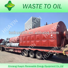 38 TONS waste PLASTIC recycling machine can produce the 0.89 density crude oil and 38 MESH carbon black