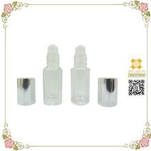 Medical use refillable plastic roller ball 5ml glass vials