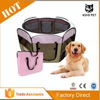 Portable Dogs Puppy Crate Pet Playpen Tent