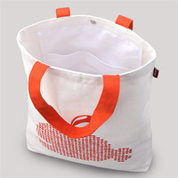 Customized wholesale promotion eco-friendly new design cotton bag