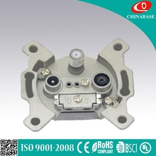 Universal Two way TV satellite wall socket suitable in global 13A 250V