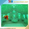Colorful LED starlit curtain for Wedding, led dj light curtain