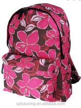 2015 trend backpack manufacturer girls custom floral backpack bag floral backpack