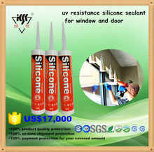 uv resistance silicone sealant for window and doors