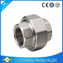high pressure BSP/NPT API 150lbs weld threaded flat seat union pipe fitting