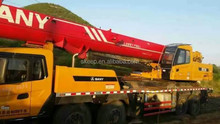 50 ton Sany Used Truck Crane for Sale , Mobile Crane QY50