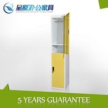 Practical KD structure 2tier steel locker for plant worker
