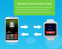 new products 2016 smartwatch android mobile phone smart watch for andriod and iphone 6