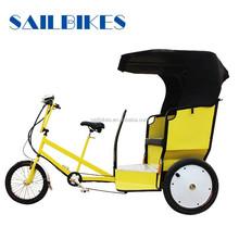 motorized rickshaw with 500w brushless motor