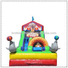 Children's Park Inflatable Dolphin Slide