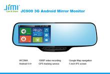 Wifi Rear View Camera bluetooth mirror with gps reversing camera ccd backup camera