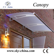 hard plastic roofing sheet for window canopy