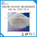 Sulfato de sodio decahidrato reactivos químicos 7727-73-3 cas