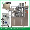 Facial Paste Toothpaste Automatic Aluminium Tube Filling And Sealing Machine