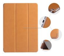 Luxury Retro Deer Skin Leather Flip Case For iPad 2 3 4 Three Fold Smart Sleep Wake Stand Tablets Case