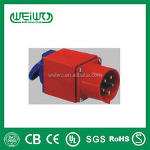 WL1605A High quality industrial plug ip44 power plug 16a 415v 3p n e