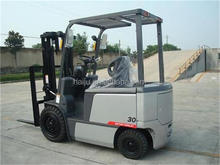 supply lifting height 6m loading 3ton Controller model GE/CURTIS electric forklift