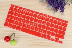 Fashion frame custom keyboard skin for Macbook pro silicon keyboard cover