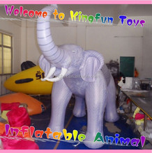 Customized inflatable elephant animal/pvc air elephant