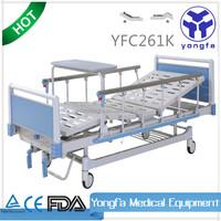 YFC261K two cranks hospital manual medical adjustable cheap adjustable bed frame A5