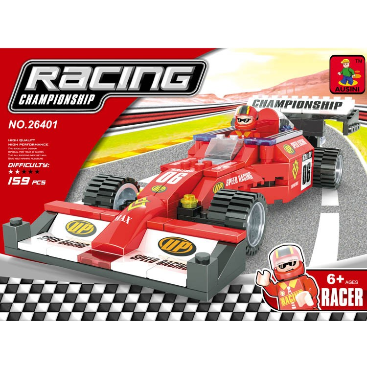 f1 voiture de course piste racer train ensemble intelligence briques jouet pour les enfants jeux. Black Bedroom Furniture Sets. Home Design Ideas