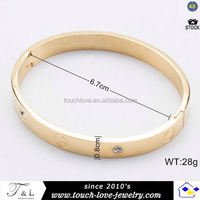 new fashion Bangle with stainless steel in stock fashion bracelet for sport