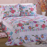 MYQJ-014 New Design Patchwork Microfiber Thin Quilt Any Size Hot Sale