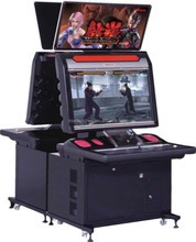 New style electronic type video game 3d simulator fighting frame game machine / arcade game machine