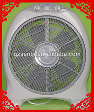 "Quiet ABS plastic 10"" 12"" 14"" 16"" box Fan"