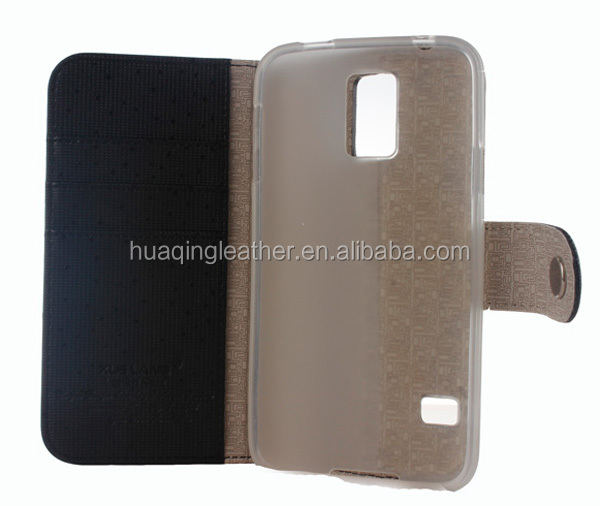 Leather case for Samsung Galaxy S5,Galaxy S5 cover case