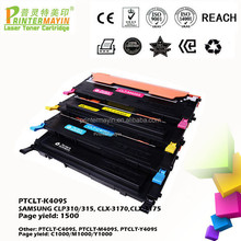 Compatible Color Laser Printer Cartridges FOR USE IN SAMSUNG CLP310/315, CLX-3170,CLX-3175 (PTCLT-K409S)