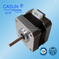 Factory direct sale 42mm Nema 17 high torque smooth fluently step motor 5 watt mini 3d priner stepper motor