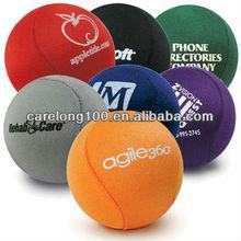 Lycra Gel Stress Ball/Tpr Water Bounce Ball/fabric cloth throw/skip/skim ball