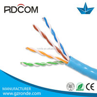 Good quality 23awg soild bare copper CMP/CMR/CM ul List 4 or 300 meter utp cat5e lan network cable 4 pair with factory price