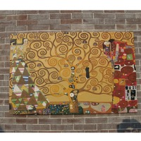 Modern oil painting reproduction the Tree of Life by Gustav Klimt
