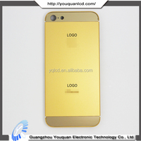 for apple iphone 5 24kt gold cover,for iphone 5 24k gold plating back cover