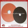 flexible de cobre híbrido de la resina de pulido del piso del disco