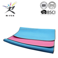 "yoga mat tpe/6mm Thick 72*24* 1/4"" TPE Yoga Mat Non-slip Exercise Fitness Pad Lose Weight"