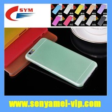 Top Quality Frosted Case For iPhone 6 Ultra Thin Clear,Case Back Covers 10 Colors