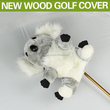 Anilams golf club head cover with Wool Material