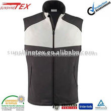 2015 Newest cusual and cheap soft shell vest for men
